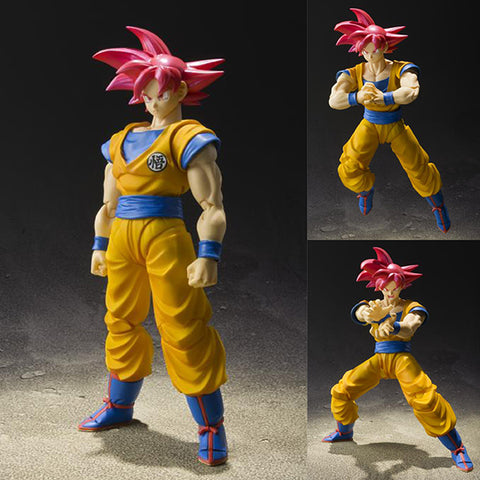 S.H.Figuarts Super Saiyan God Son Goku from Dragon Ball Z [IN STOCK]