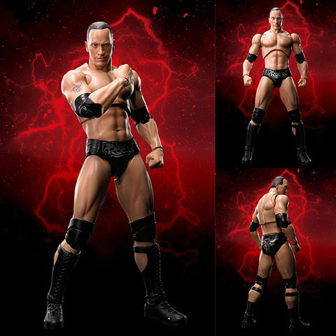 S.H.Figuarts The Rock Dwayne Johnson from WWE [IN STOCK]