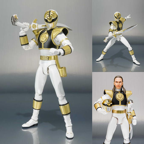 S.H.Figuarts White Ranger (Tommy Oliver Ver.) from Mighty Morphin Power Rangers [PRE-ORDER]