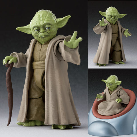 S.H.Figuarts Yoda from Star Wars Episode III: Revenge of the Sith [SOLD OUT]