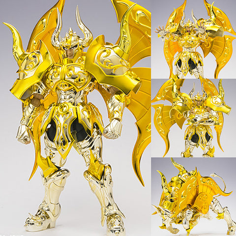 Saint Cloth Myth EX Taurus Aldebaran God Cloth from Saint Seiya Soul of Gold [SOLD OUT]