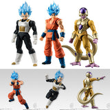 Shodo SSGSS Son Goku, SSGSS Vegeta, and Golden Freeza from Dragon Ball Set of 3 Figures [SOLD OUT]