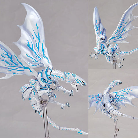 Vulcanlog 013 Blue-Eyes Alternative White Dragon from Yu-Gi-Oh! Movie Revoltech [SOLD OUT]