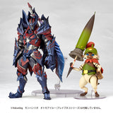 Vulcanlog 019 Male Swordsman Glavenus Series from Monster Hunter Revoltech [SOLD OUT]