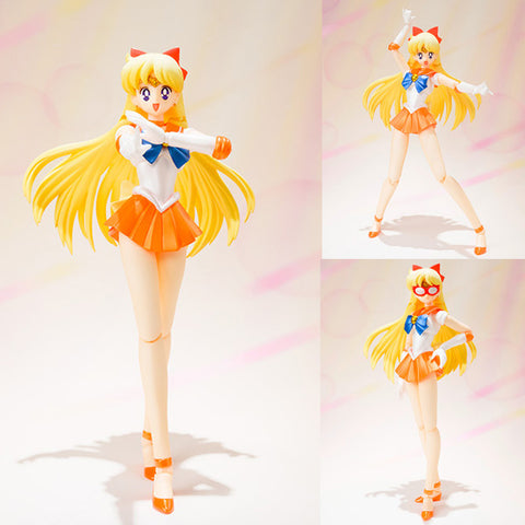 S.H.Figuarts Sailor Venus from Sailor Moon Action Figure Bandai Tamashii Japan [SOLD OUT]