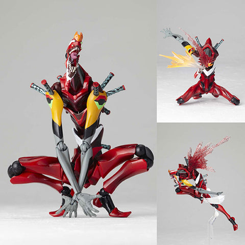Legacy of Revoltech LR-035 EVA-02 The Beast Version from Evangelion: 2.0 You Can (Not) Advance Kaiyodo [SOLD OUT]