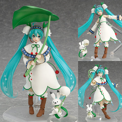 Figma EX-024 Snow Miku Snow Bell Version Max Factory [SOLD OUT]