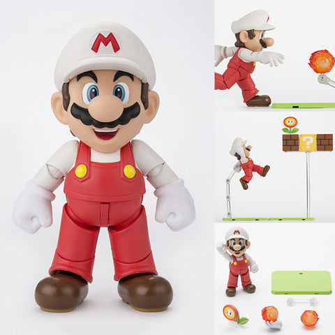 S.H.Figuarts Fire Mario from Super Mario Bros Nintendo [IN STOCK]