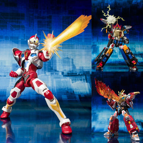 Ultra-Act Gridman + Thunder Gridman + King Gridman Set Anime Figure Bandai [PRE-OWNED] [SOLD OUT]