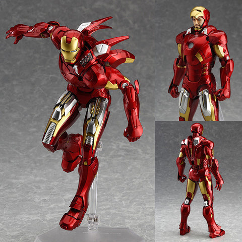 Figma 217 Iron Man Mk VII (Mark 7) Full Spec Ver. The Avengers Marvel Max Factory [IN STOCK]