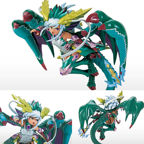 PVC Puzzle & Dragons Vol 10 Jade Dragon Caller Sonia Game Prize Figure Eikoh [SOLD OUT]