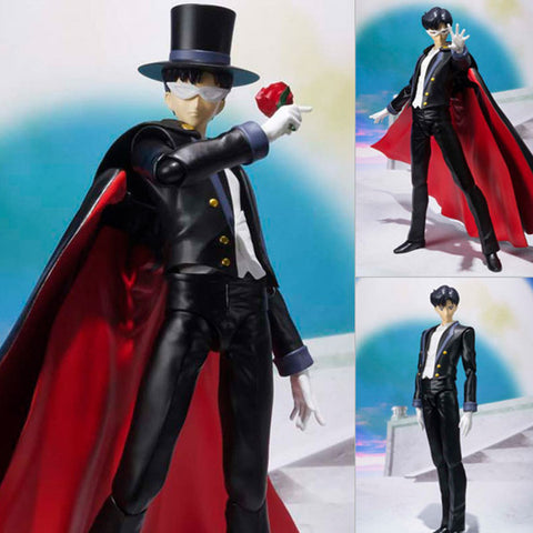 S.H.Figuarts Tuxedo Kamen (Mask) from Sailor Moon Bandai Tamashii [SOLD OUT]