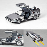 Figure Complex Movie Revo No.001 DeLorean from Back to the Future II Revoltech Kaiyodo [SOLD OUT]