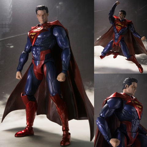 S.H. Figuarts Superman Injustice Version from Injustice: Gods Among Us DC Comics Bandai Tamashii [IN STOCK]