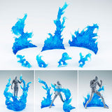 Tamashii Effect Burning Flame Blue Version for S.H.Figuarts D-Arts Bandai Tamashii [SOLD OUT]