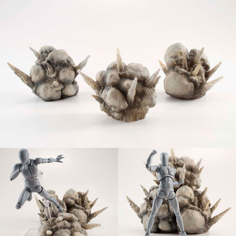 Tamashii Effect Explosion Grey Version for S.H.Figuarts Bandai [SOLD OUT]