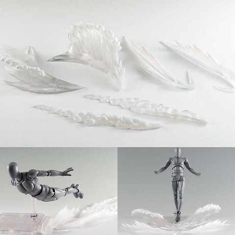 Tamashii Effect Wave Clear Version for S.H.Figuarts Bandai Tamashii [SOLD OUT]