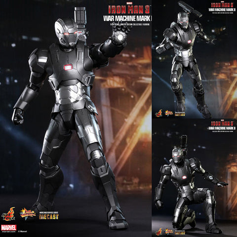 Hot Toys 1/6 War Machine Mk II (Mark 2) Diecast Action Figure from Iron Man 3 Movie Masterpiece [IN STOCK]