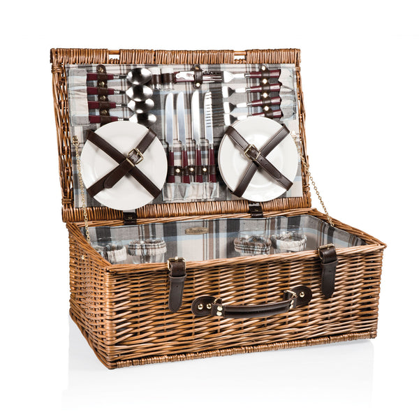 Newbury Picnic Basket With Service For 4