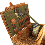 Somerset Picnic Basket With Service for 2