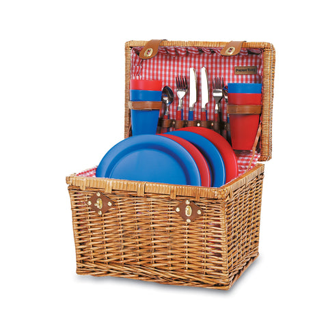 OXFORD PICNIC BASKET With Service for 4