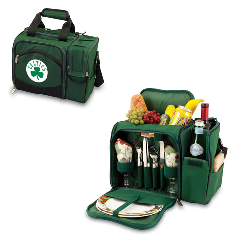 Boston Celtics Picnic Pack With Service for 2 -Malibu by Picnic Time