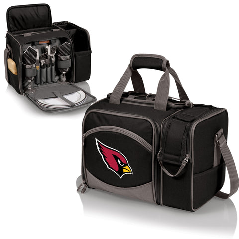Arizona Cardinals Picnic Pack With Service for 2 -Malibu by Picnic Time