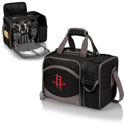 Houston Rockets Picnic Pack With Service for 2 -Malibu by Picnic Time