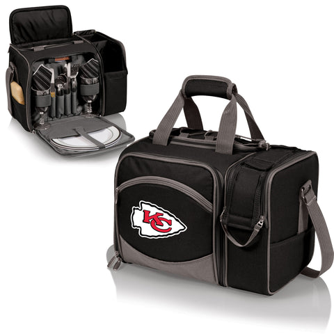 Kansas City Chiefs Picnic Pack With Service for 2 -Malibu by Picnic Time