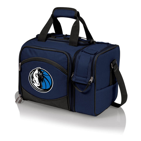 Dallas Mavericks Picnic Pack With Service for 2 -Malibu by Picnic Time