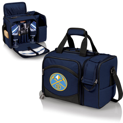 Denver Nuggets Picnic Pack With Service for 2 -Malibu by Picnic Time