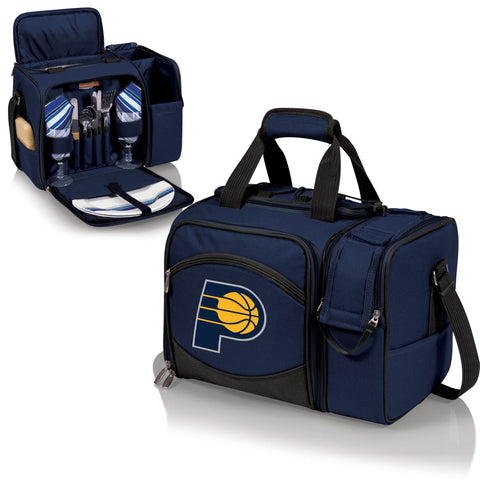 Indiana Pacers Picnic Pack With Service for 2 -Malibu by Picnic Time