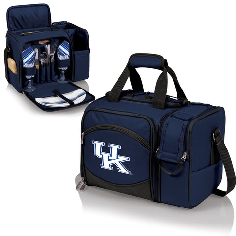Kentucky Wildcats Picnic Pack With Service for 2 -Malibu by Picnic Time