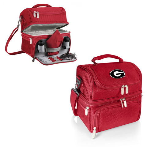 Georgia Bulldogs Insulated Lunch Box - Pranzo by Picnic Time