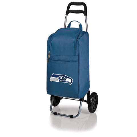Cart Cooler - Navy (Seattle Seahawks) Digital Print