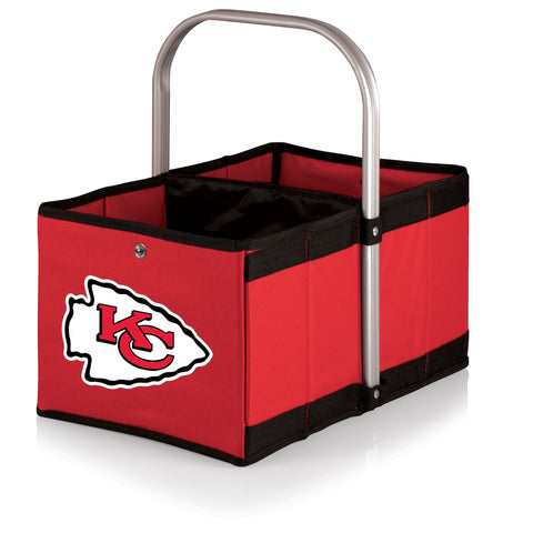 Kansas City Chiefs Urban Basket by Picnic Time