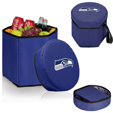 Bongo Cooler - Navy (Seattle Seahawks) Digital Print