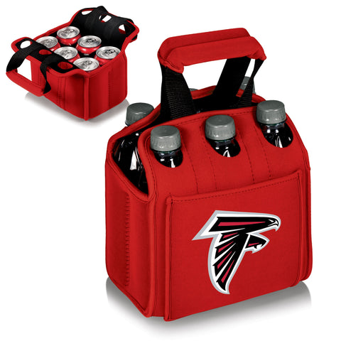 Atlanta Falcons 6 Pack Cooler by Picnic Time