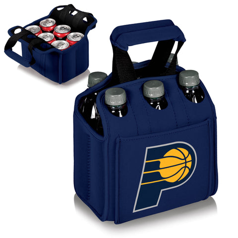 INDIANA PACERS 6 Pack Cooler by Picnic Time