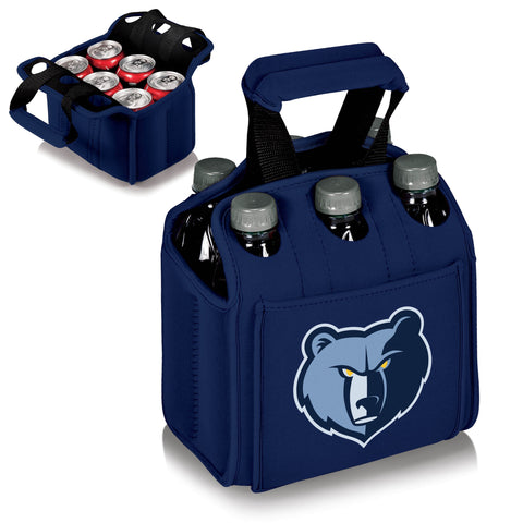 MEMPHIS GRIZZLIES 6 Pack Cooler by Picnic Time