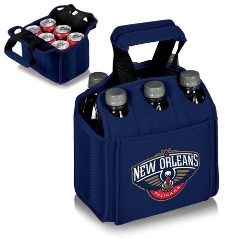 NEW ORLEANS PELICANS 6 Pack Cooler by Picnic Time