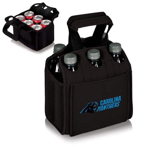 Carolina Panthers 6 Pack Cooler by Picnic Time