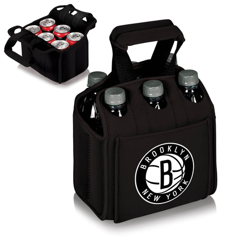 Brooklyn Nets 6 Pack Cooler by Picnic Time