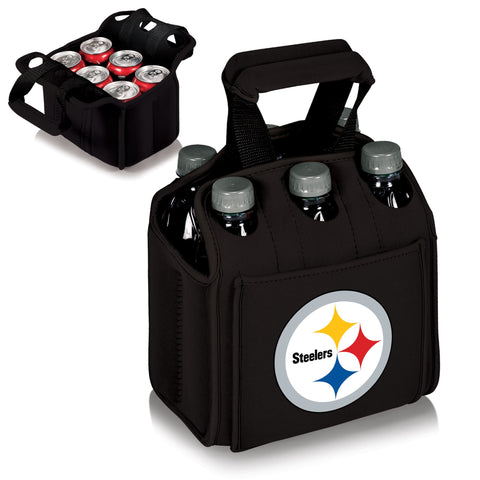 Pittsburgh Steelers 6 Pack Cooler by Picnic Time