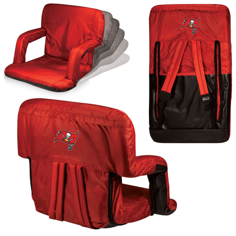Tampa Bay Buccaneers Stadium Seat / Beach Chair - Ventura By Picnic Time