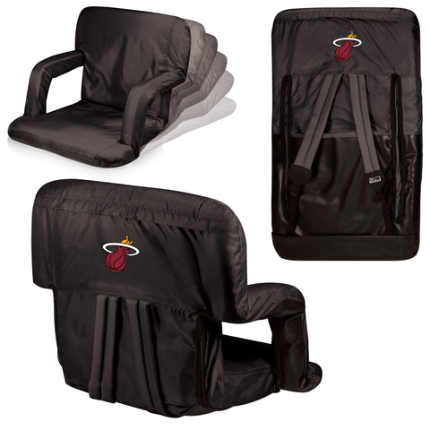 Miami Heat Stadium Seat / Beach Chair - Ventura By Picnic Time