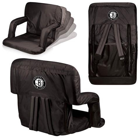 Brooklyn Nets Stadium Seat / Beach Chair - Ventura By Picnic Time
