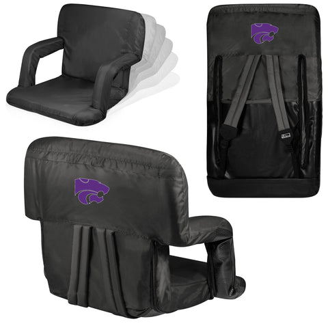 Kansas State Wildcats Stadium Seat / Beach Chair - Ventura By Picnic Time