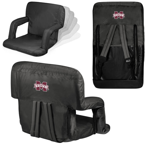 Mississippi State Bulldogs Stadium Seat / Beach Chair - Ventura By Picnic Time