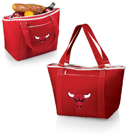 Chicago Bulls Insulated Tote Bag / Beach Bag - Topanga by Picnic Time